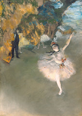 The Star, Edgar Degas Alternate View