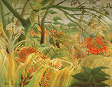 Tiger in a Tropical Storm (Surprised!), Henri J.F. Rousseau