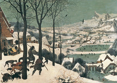 Hunters in the Snow, Pieter the Elder Bruegel Alternate View