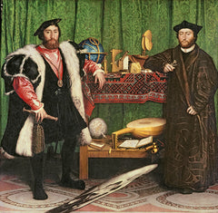 The Ambassadors, Hans Holbein the Younger Alternate View