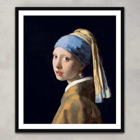 Girl with a Pearl Earring, Johannes Vermeer