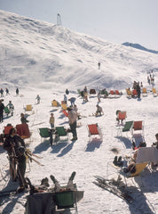 Skiers at Verbier, Slim Aarons Alternate View