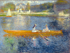 The Skiff (La Yole), Pierre Auguste Renoir Alternate View