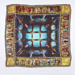 Scottish National Portrait Gallery Ceiling Silk Scarf, National Galleries of Scotland Alternate View
