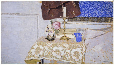 The Candlestick Edouard Vuillard Silk Scarf, National Galleries of Scotland Alternate View