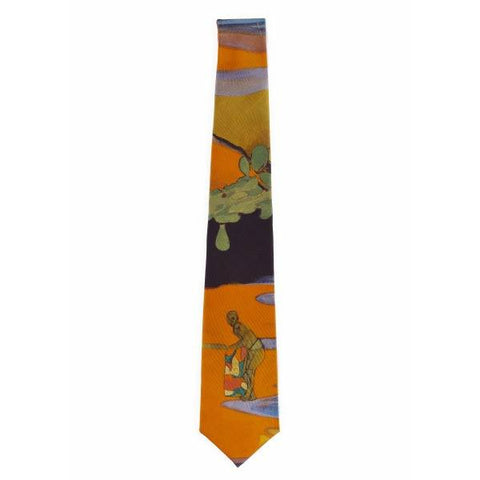 Cricket Painting Tie, Peter Doig