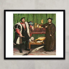 The Ambassadors, Hans Holbein the Younger