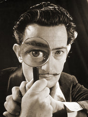 Portrait of Salvador Dali, c.1940, Bridgeman Images Alternate View