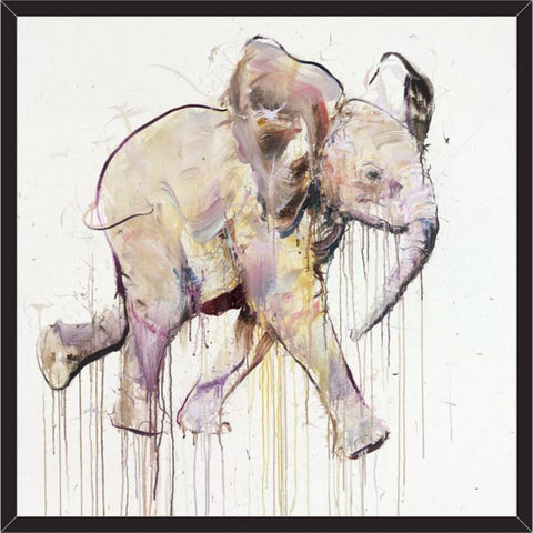 Young Elephant IX, Dave White Alternate View