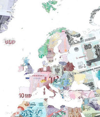 Money Map of the World, Justine Smith Alternate View