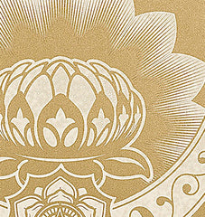 Obey Lotus Crescent, Obey (Shepard Fairey) Alternate View