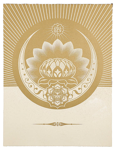 Obey Lotus Crescent, Obey (Shepard Fairey)