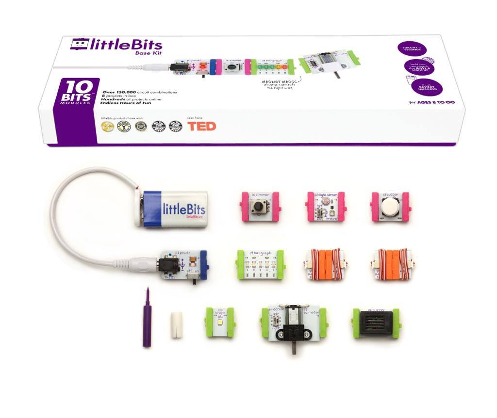 LittleBits Electronics Base Kit, The Science Museum - CultureLabel - 1