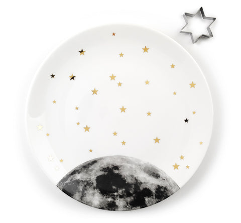 Mooon Platter and Star Cookie Cutter, The Science Museum