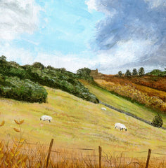 Gathering Clouds, North Yorkshire, Jane Peart Alternate View