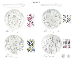The Tropique Collection Set of 4, Mira Santo Alternate View