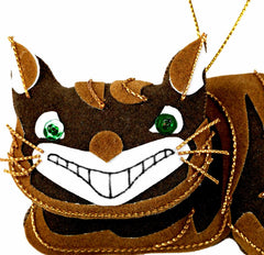 Alice In Wonderland Cheshire Cat Decoration, The British Library Alternate View