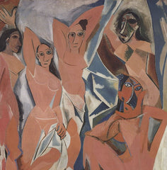 The Ladies of Avignon, Pablo Picasso Alternate View