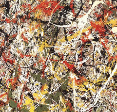 Number III, Jackson Pollock Alternate View