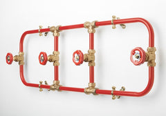 Pipework Coat Rack, Nick Fraser
