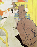 The Englishman at the Moulin Rouge 1892, Henri de Toulouse-Lautrec