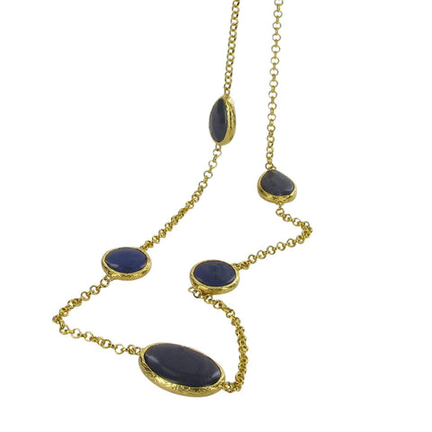 Blue Agate Necklace, The Courtauld Gallery