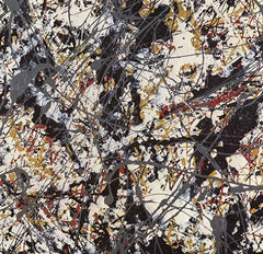 Painting, Jackson Pollock Alternate View