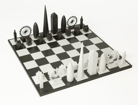London Skyline Chess Set, The British Library - CultureLabel