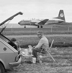 Couple Picknicking Next to Sumburgh Airport, Tom Kidd Alternate View