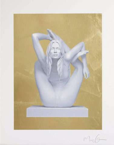 Sphinx - Gold Leaf, Marc Quinn