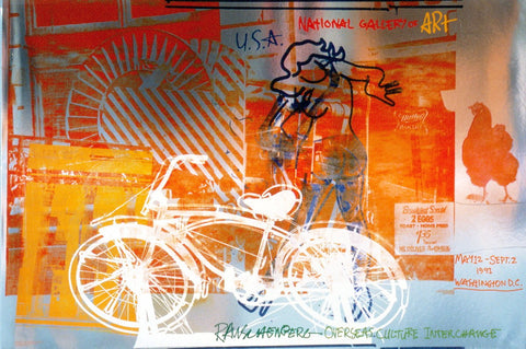 Bicycle - National Gallery, Robert Rauschenberg - CultureLabel - 1