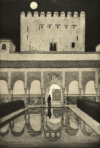 Alhambra at Night, Jane Peart - CultureLabel - 1