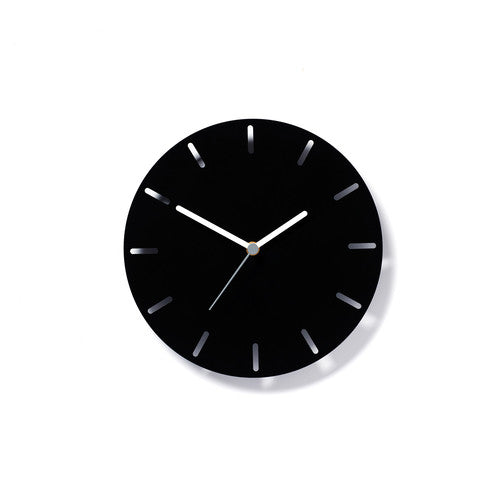 Aperture Clock Black, David Weatherhead - CultureLabel