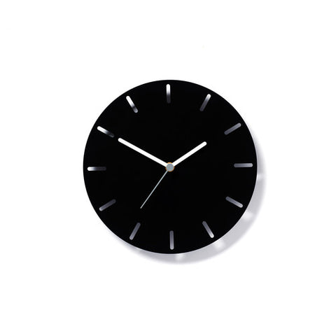 Aperture Clock Black, David Weatherhead