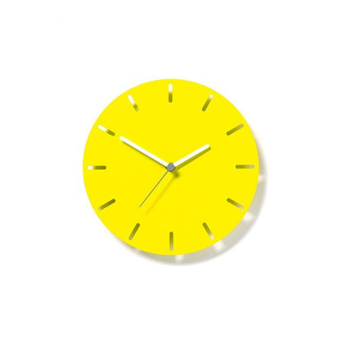 Aperture Clock Lemon, David Weatherhead