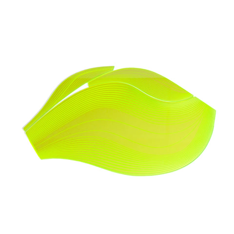 Lime Aqua Table Mat, Zaha Hadid