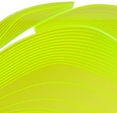 Lime Aqua Table Mat, Zaha Hadid Alternate View