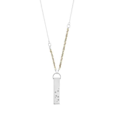 Silver Zodiac Constellation Necklace, No 13 - CultureLabel - 1