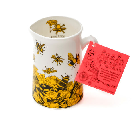 Bee Free 1/2 Pint Jug, ARTHOUSE Meath - CultureLabel - 1