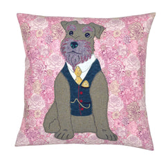 Liberty London Arthur Schnauzer Cushion, Mia Loves Jay