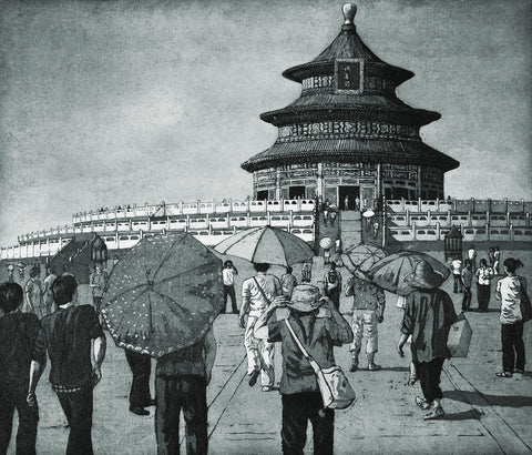 The Temple of Heaven, Beijing, Jane Peart - CultureLabel