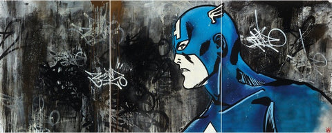 Avenger - New York City Triptych, Ben Allen - CultureLabel - 1