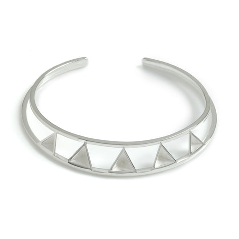 Pyramid Deco Bangle, Stephanie Ray