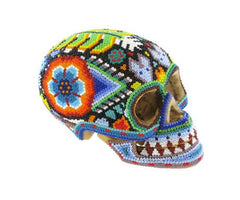 Huichol Indian Art Skull, The British Museum Alternate View