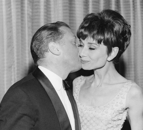 Richard Attenborough and Audrey Hepburn at the British Academy Film Awards, BAFTA Alternate View