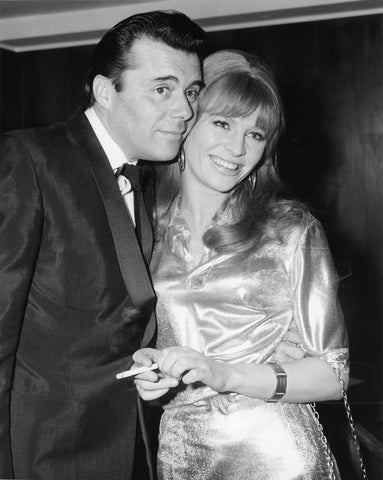 Julie Christie and Dirk Bogarde at the British Academy Film Awards, BAFTA