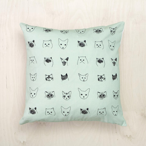 Cats Cushion, Baines&Fricker - CultureLabel