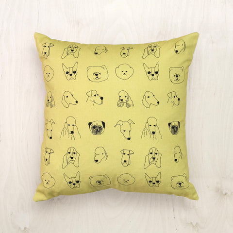 Dogs Cushion, Baines&Fricker - CultureLabel