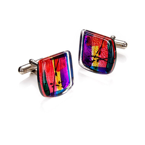 Barbara Rae Cufflinks, Royal Academy