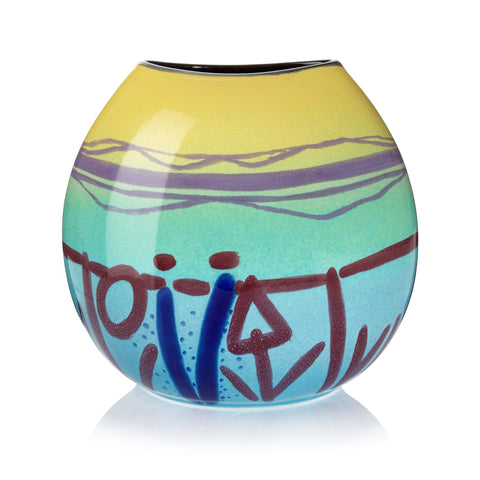 Twilight Large Purse Vase, Barbara Rae - CultureLabel - 1
